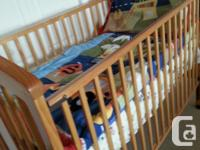 Stork Craft Crib. Hardly used and looks like new. This
