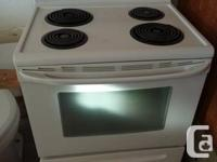 Brand new white stove. Please call