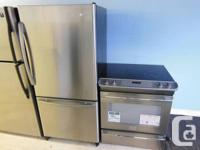 Fridge Amana Stainless steel in perfect condition