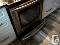 30 inch samsung 3 in 1 convection flex oven for sale