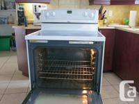 We are selling this Whirpool stove. All top elements