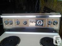 I have a 30 inch almond stove for sale. It is in