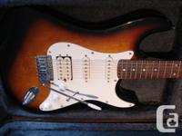 Samick stratocaster DS-410 ?? has the double humbucker