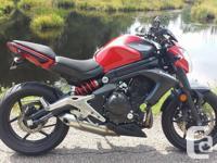 Make Kawasaki kms 6600 Selling my 2013 Kawasaki er6n.