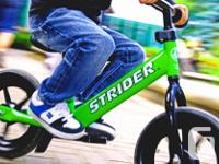 WINNIPEG BALANCE BIKES Ages 1-5 years! No Pedals = No