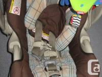 Graco Travel System - car seat and stroller combo.