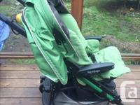 Fold-able, quality, and very lightweight stroller from