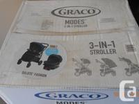 GRACO 3 in 1 stroller,brand new, never opened the box.