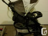 item = baby stroller make = Graco model = Eurosport