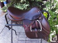 "Seat Dimension: 17"". Tree Size: 31 cm. Saddle Colour:"