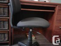 Students desk, chair and night stand for sale.