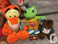 Stuffed animals for sale as a lot for $5 only,