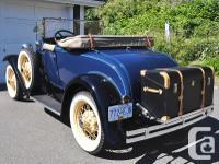 Year 1931 Colour Washington Blue Trans Manual kms 469