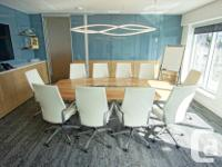 Sq Ft 275 Impress Your Clients and Staff A large