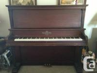 Antique well took care of Heintzman upright fullsize