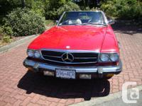 Make Mercedes-Benz Model 560SL Colour Red Trans