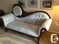 Vintage.          Antique replica  settee  ,  solid