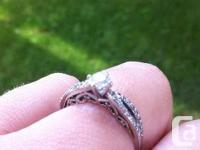 Lovely involvement ring offer for sale paid 2000 for it