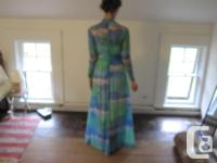 Fabulous vintage gown by renowned designer Robert David