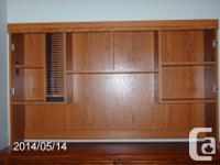 I have a good strong oak hutch available for much less