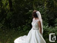 The dress bodice - was orginally a size 4 - was