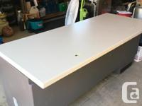 This is a sturdy desk. Great for an office or even a