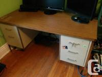 I have a very sturdy office desk for sale. It's in very