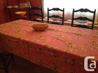 Marketing a Lovely April Cornell Table linen from my
