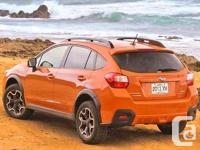 These wheels are off a 2015 Subaru Crosstrek XV, but