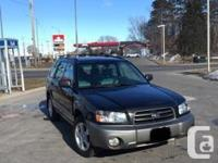 Make Subaru Model Forester Year 2004 Colour Black kms