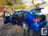 Make Subaru Year 2009 Colour blue Trans Manual kms
