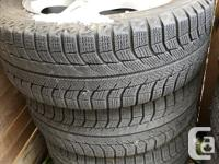 Low mileage winter tire package that fits Subarus.
