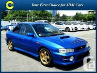 Stock ID: 139. Year: 1999. Make: Subaru. Version: