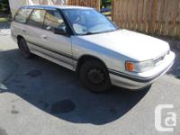 Make Subaru Design Legacy Wagon Year 1991 Colour