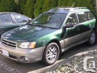 Make Subaru Model Outback Year 2000 Colour Green and