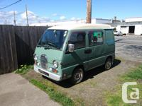 Make Subaru Colour green Trans Manual kms 159000 1994