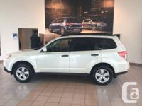 ON SALE AT $19995.  This 2011 Subaru Forester is a 2.5