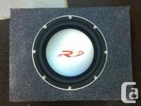 """I have for sale:. (1) 12"""" Alpine Kind R in a ported box"""