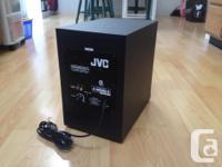 The JVC SXPW650V.2 subwoofer speaker uses a 160mm