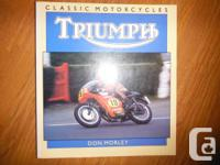 """Triumph Standard Motorcycles"" by Don Morley . From the"