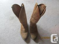 """These boots are 25 dollars each. They are """"Boulet of"""