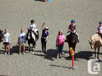 Only 2 spots remaining in Cowichan Therapeutic Riding's