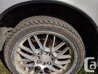 "17"" alloy rims with summer tires 205/40R17 Lots of"