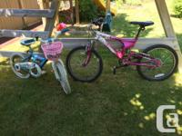 -My First Two-Wheeler - Candy Floss Dream Bike complete