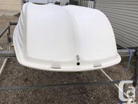 Sun Dolphin Boat is 9 1/2 feet long and 4 1/2 feet