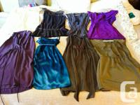Tons of name brand women's clothing. Guess, Lulu,
