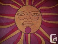 This SUN was painted in 1970 now 45 years ago...copied