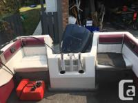 140HP Evinrude with good compression, just serviced by