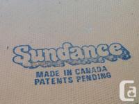 Sundance trampoline - it is super bouncy made in
