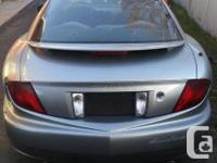 Make Pontiac Model Sunfire Year 2003 Colour silver kms